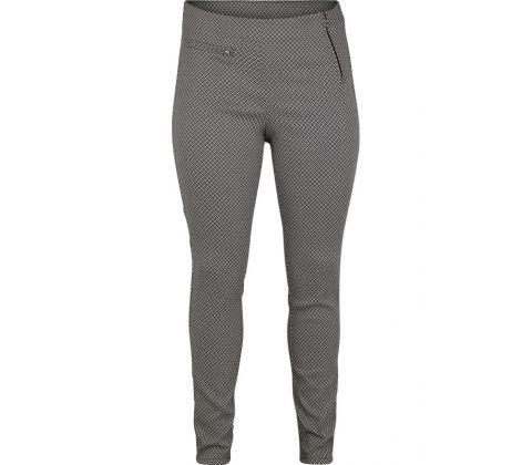 44134743a4a Super smarte mønstrede bukser fra Adia i sort/hvid