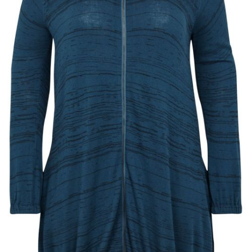 Adia cardigan i lake blue
