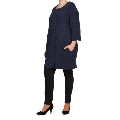 Adia cardigan i midnight blue