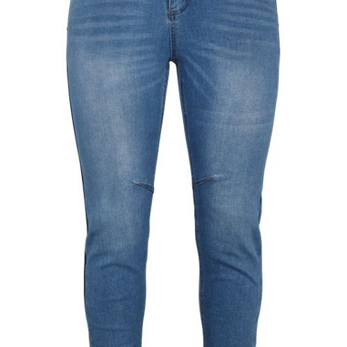 Super cool Adia Milan jeans i lys denim