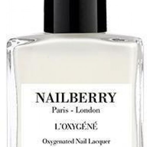 NAILBERRY NEGLELAK WHITE MIST