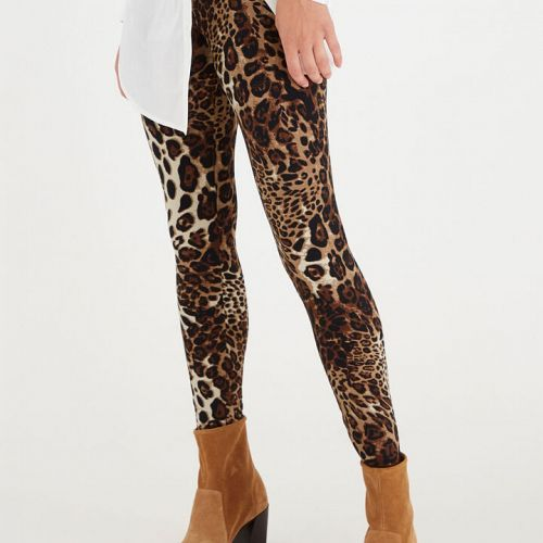 Leo leggings fra Fransa i black mix