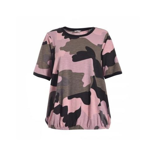 Gozzip t´shirt i rosa army look