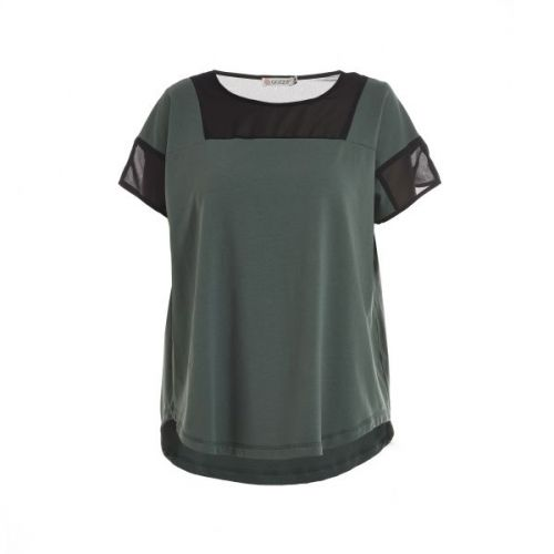 Cool Gozzip t´shirt i dusty green