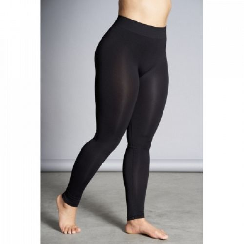 Seamless leggings i sort fra Sandgaard