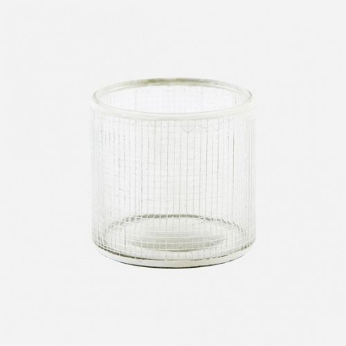 Tealight Check silver fra House Doctor