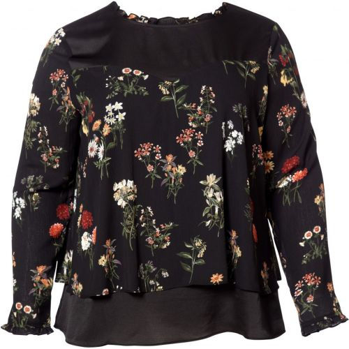 No. 1 by Ox bluse med blomsterprint