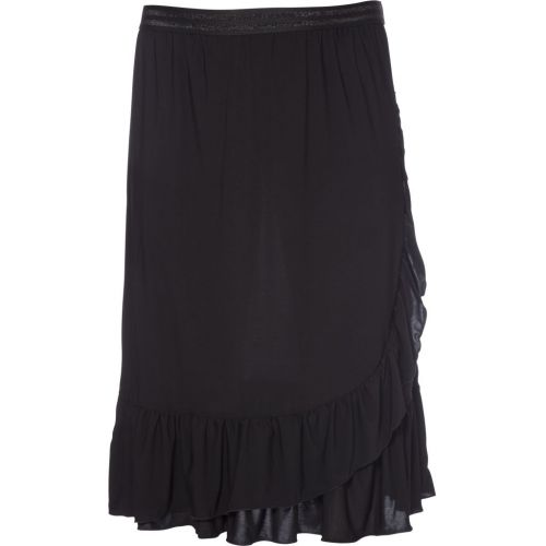 Sort Ruffle skirt fra No. 1 by Ox