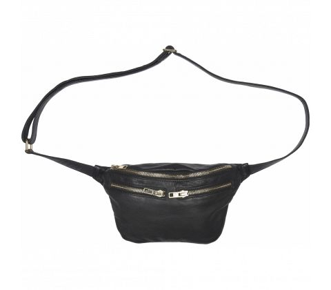 Sort bumbag fra No 1 by Ox
