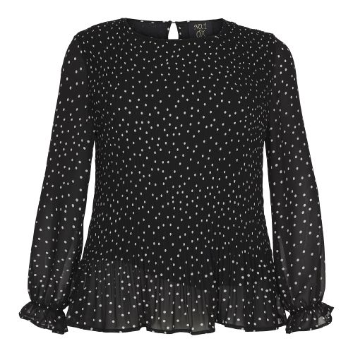 Smuk No 1 by Ox bluse med plisse´