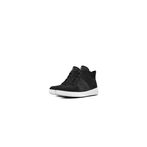 Fitflop Crystall high sneaker i sort