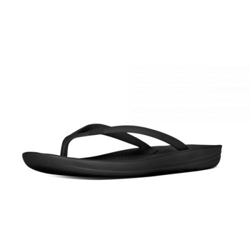 Fitflop sort iqushion sandal