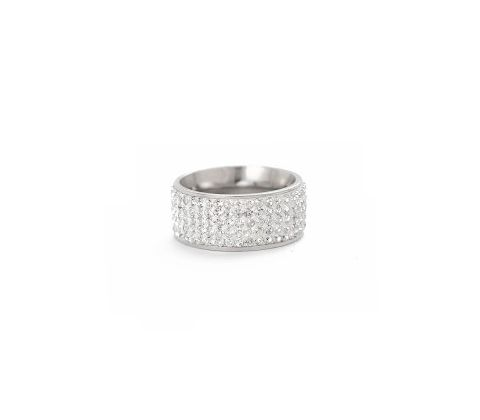 Våga Bling fingerring - steel 5-row.