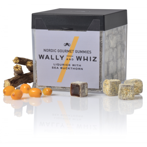 Wally and Whiz gourmet vingummi med lakrids og havtorn