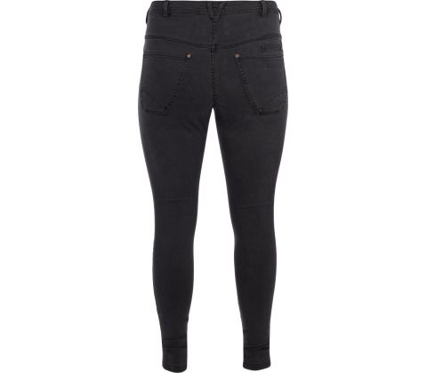 Zizzi Amy super slim jeans i grå
