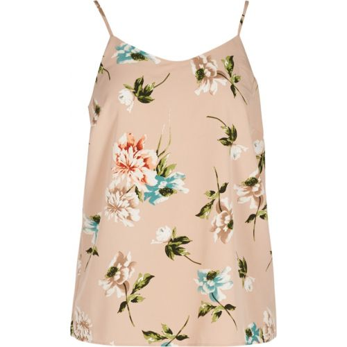 Zizzi top med blomsterprint